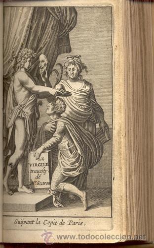 Libros antiguos: VIRGILE TRAVESTY – AÑO 1668 - Foto 2 - 43646453