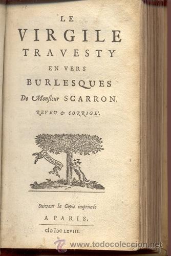 Libros antiguos: VIRGILE TRAVESTY – AÑO 1668 - Foto 3 - 43646453
