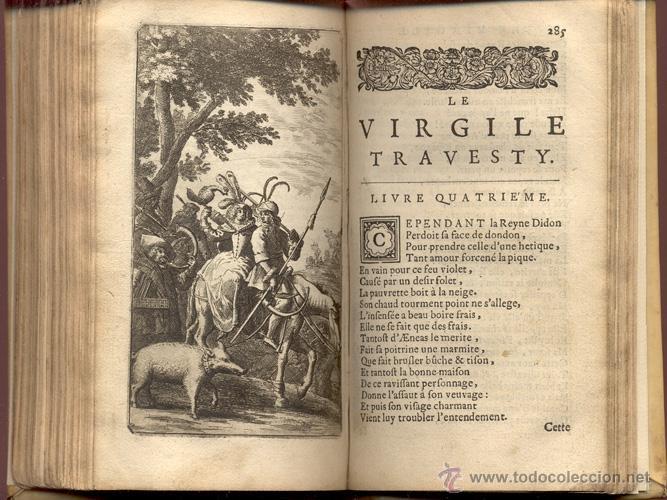 Libros antiguos: VIRGILE TRAVESTY – AÑO 1668 - Foto 11 - 43646453