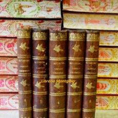 Libros antiguos: CARTAS CRITICAS QUE ESCRIBIÓ EL RMO. PADRE MAESTRO FR. FRANCISCO DE ALVARADO . 5 VOLS . . Lote 43906274