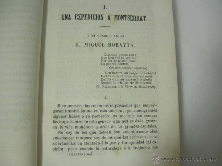 Libros antiguos: ESTUDIOS CRITICOS DE FILOSOFIA, POLITICA Y LITERATURA POR F. DE PAULA CANALEJAS, BAILLY 1872 - Foto 7 - 43999676