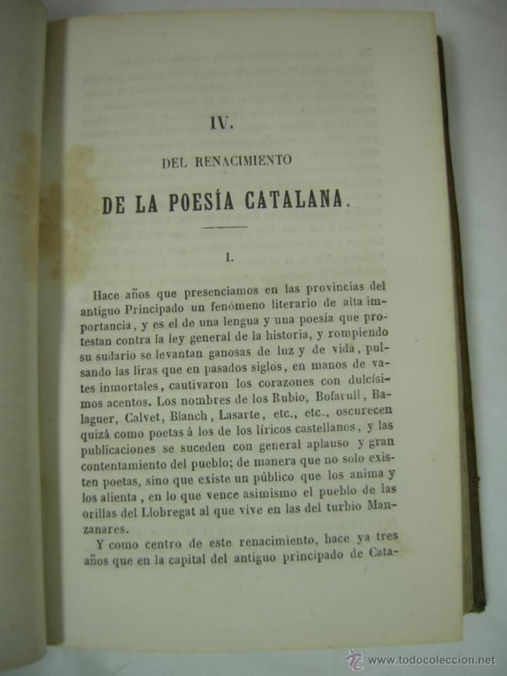 Libros antiguos: ESTUDIOS CRITICOS DE FILOSOFIA, POLITICA Y LITERATURA POR F. DE PAULA CANALEJAS, BAILLY 1872 - Foto 9 - 43999676
