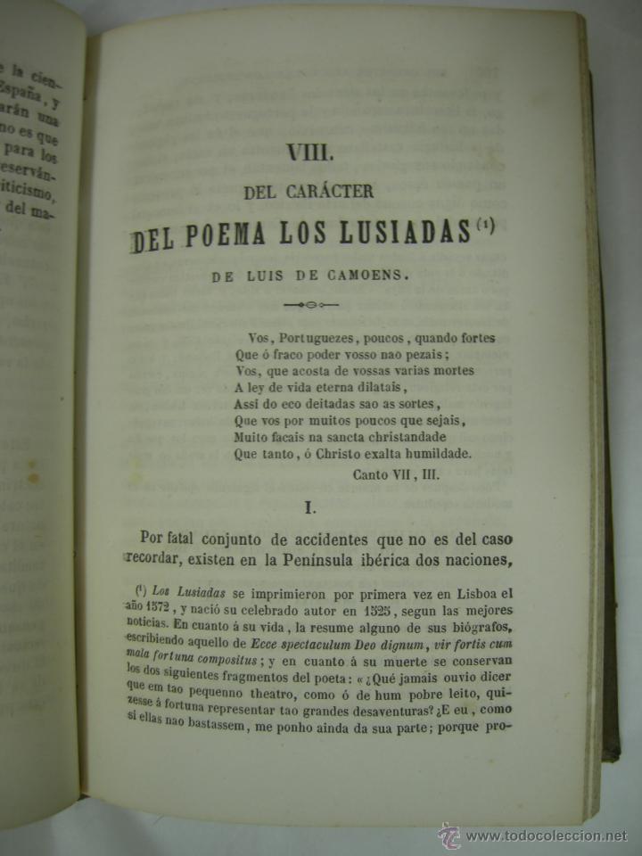 Libros antiguos: ESTUDIOS CRITICOS DE FILOSOFIA, POLITICA Y LITERATURA POR F. DE PAULA CANALEJAS, BAILLY 1872 - Foto 11 - 43999676