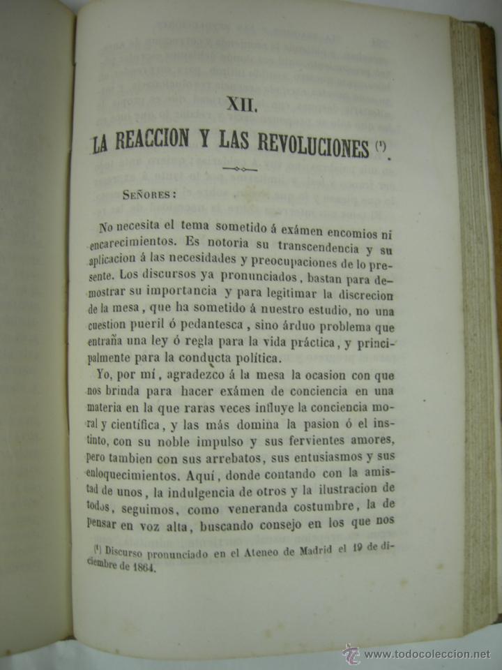 Libros antiguos: ESTUDIOS CRITICOS DE FILOSOFIA, POLITICA Y LITERATURA POR F. DE PAULA CANALEJAS, BAILLY 1872 - Foto 14 - 43999676
