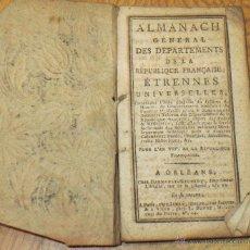 Libros antiguos: MERCURE FRANÇAIS HISTORIQUE, POLITIQUE ET LITTÉRAIRE Nº 13 AÑO 1797 SIGLO XVIII. Lote 44433162