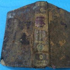 Libros antiguos: INSTITUTIONUM ELEMENTARIUM PHILOSOPHILE - ANDREA GUEVARA - TOMUS QUARTUS - AÑO 1829. Lote 45598008