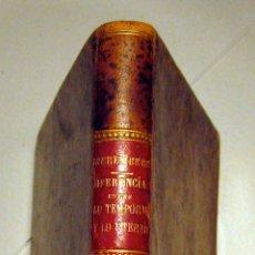 Libros antiguos: JUAN EUSEBIO NIEREMBERG. DIFERENCIA ENTRE LO TEMPORAL Y LO ETERNO. 1891. Lote 46994580