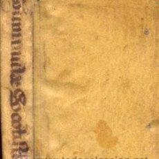 Libros antiguos: PRIMA PARS CURSUS PHILOSOPHICI - AÑO 1736. Lote 47649708