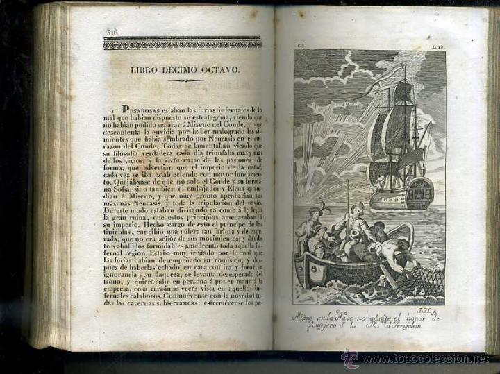 Libros antiguos: ALMEIDA : EL HOMBRE FELIZ O ARTE DE VIVIR CONTENTO (1837) 711 PÁGINAS - 25 GRABADOS - Foto 2 - 47327620