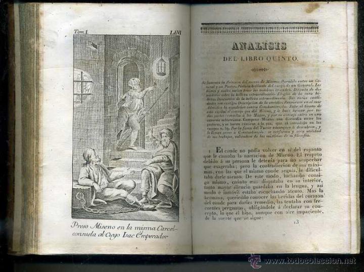 Libros antiguos: ALMEIDA : EL HOMBRE FELIZ O ARTE DE VIVIR CONTENTO (1837) 711 PÁGINAS - 25 GRABADOS - Foto 3 - 47327620