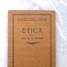 Libros antiguos: ETICA- AÑO 1929. Lote 47351235