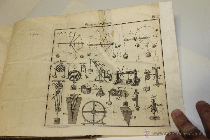 Libros antiguos: ELEMENTOS DE FILOSOFIA,COMPENDIO DE FISICA ESPECULATIVA Y EXPERIMENTAL 1796 - Foto 4 - 47825572