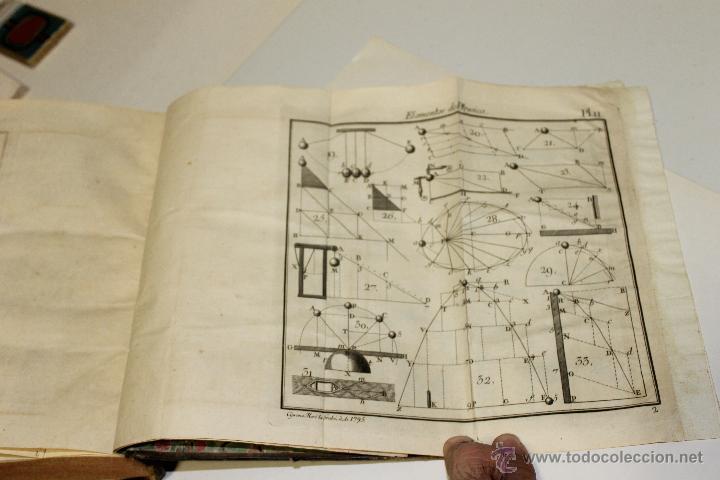 Libros antiguos: ELEMENTOS DE FILOSOFIA,COMPENDIO DE FISICA ESPECULATIVA Y EXPERIMENTAL 1796 - Foto 5 - 47825572