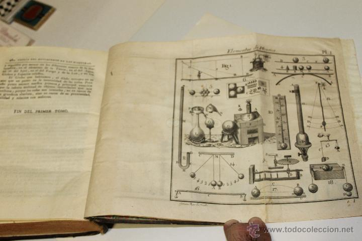 Libros antiguos: ELEMENTOS DE FILOSOFIA,COMPENDIO DE FISICA ESPECULATIVA Y EXPERIMENTAL 1796 - Foto 7 - 47825572