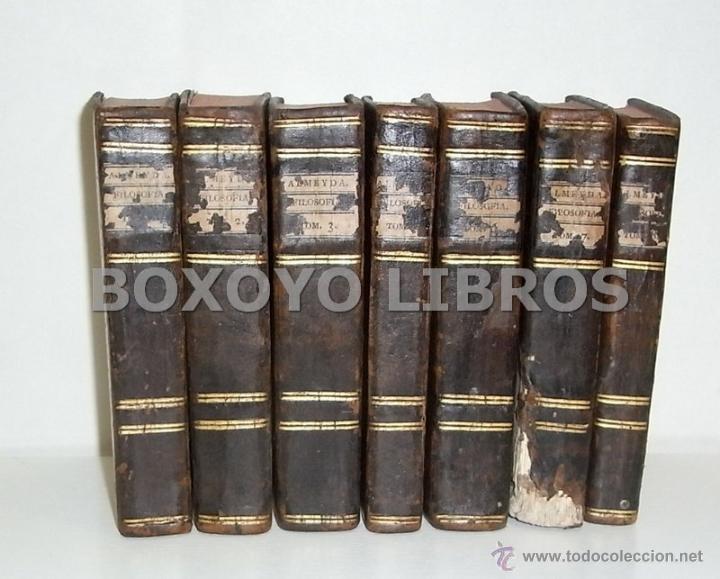 ALMEYDA (O ALMEIDA), TEODORO DE. RECREACIÓN FILOSÓFICA O DIÁLOGO SOBRE LA FILOSOFÍA NATURAL...1803 (Libros Antiguos, Raros y Curiosos - Pensamiento - Filosofía)