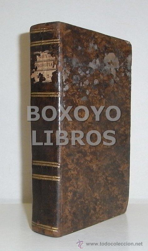 Libros antiguos: ALMEYDA (o ALMEIDA), Teodoro de. Recreación filosófica o Diálogo sobre la filosofía natural...1803 - Foto 4 - 48410318