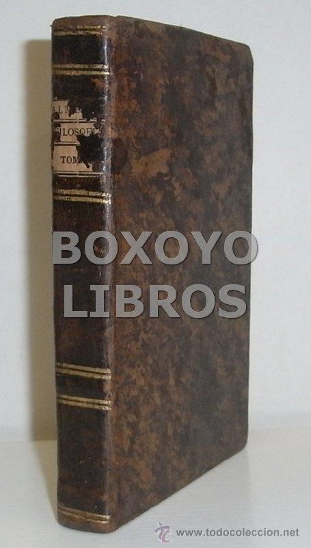 Libros antiguos: ALMEYDA (o ALMEIDA), Teodoro de. Recreación filosófica o Diálogo sobre la filosofía natural...1803 - Foto 8 - 48410318