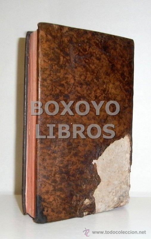 Libros antiguos: ALMEYDA (o ALMEIDA), Teodoro de. Recreación filosófica o Diálogo sobre la filosofía natural...1803 - Foto 12 - 48410318