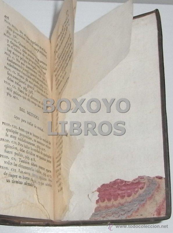 Libros antiguos: ALMEYDA (o ALMEIDA), Teodoro de. Recreación filosófica o Diálogo sobre la filosofía natural...1803 - Foto 14 - 48410318