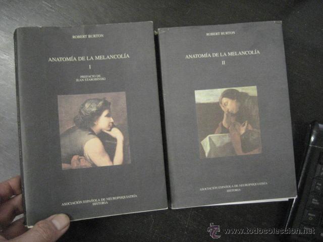anatomia de la melancolia. robert burton 2 tomo - Comprar Libros ...