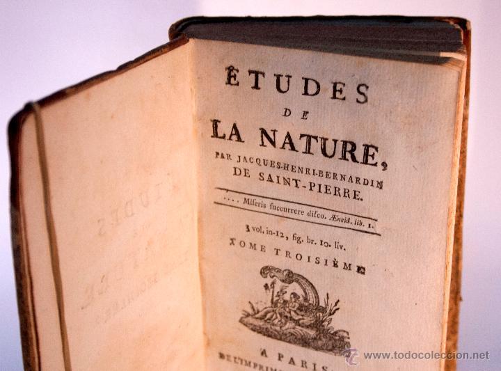1784 libro antiguo filosof a naturaleza sxviii comprar - Libros antiguos valor ...