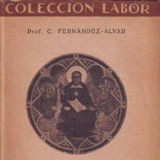 Libros antiguos: SANTO TOMAS DE AQUINO: LA LEY. Lote 50761754