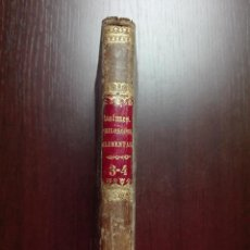 Libros antiguos: CURSUS PHILOSOPHIAE ELEMENTARIS - DRE. D. JACOBO BALMES - BARCINONE - 1852 - LATIN - . Lote 51374978
