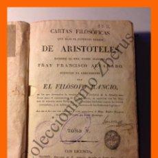Cartas Filosóficas de Aristóteles (Tomo V) - F. Alvarado - El Filósofo Ráncio (1825)