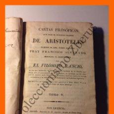 Cartas Filosóficas de Aristóteles (Tomo V) - Francisco Alvarado (El Filósofo Ráncio) 1825