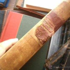 Libro de filosofía de 1881