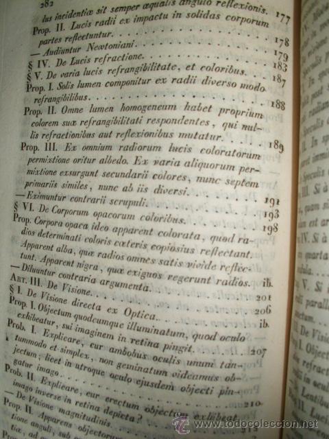 Libros antiguos: ELEMENTA PHILOSOPHIAE EN ADOLESCENTUM USUM ADORNATA - A. F. LAURENTIO ALTIERI - 1833 - Foto 13 - 52030837