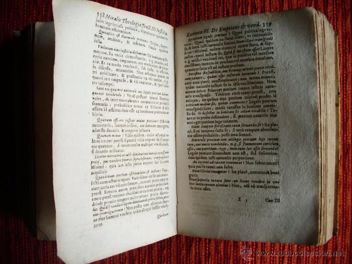 Libros antiguos: 1646-THEOLOGÍAE MORALIS. TEOLOGÍA. ANTONIO DE ESCOBAR Y MENDOZA. VALLADOLID. ORIGINAL - Foto 4 - 53323949