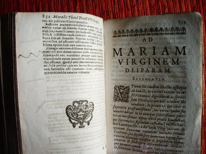 Libros antiguos: 1646-THEOLOGÍAE MORALIS. TEOLOGÍA. ANTONIO DE ESCOBAR Y MENDOZA. VALLADOLID. ORIGINAL - Foto 7 - 53323949