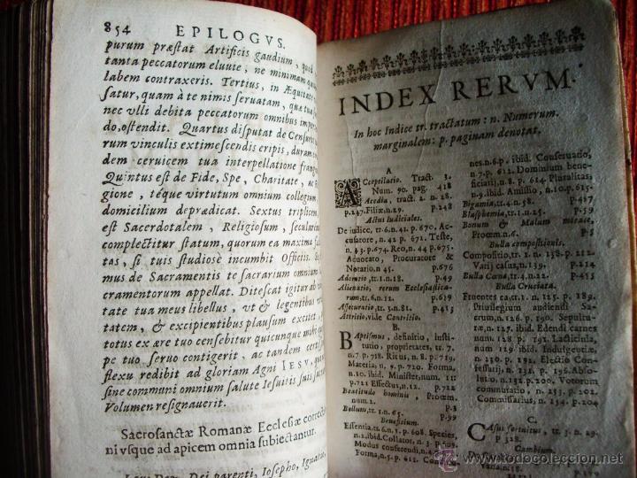 Libros antiguos: 1646-THEOLOGÍAE MORALIS. TEOLOGÍA. ANTONIO DE ESCOBAR Y MENDOZA. VALLADOLID. ORIGINAL - Foto 8 - 53323949