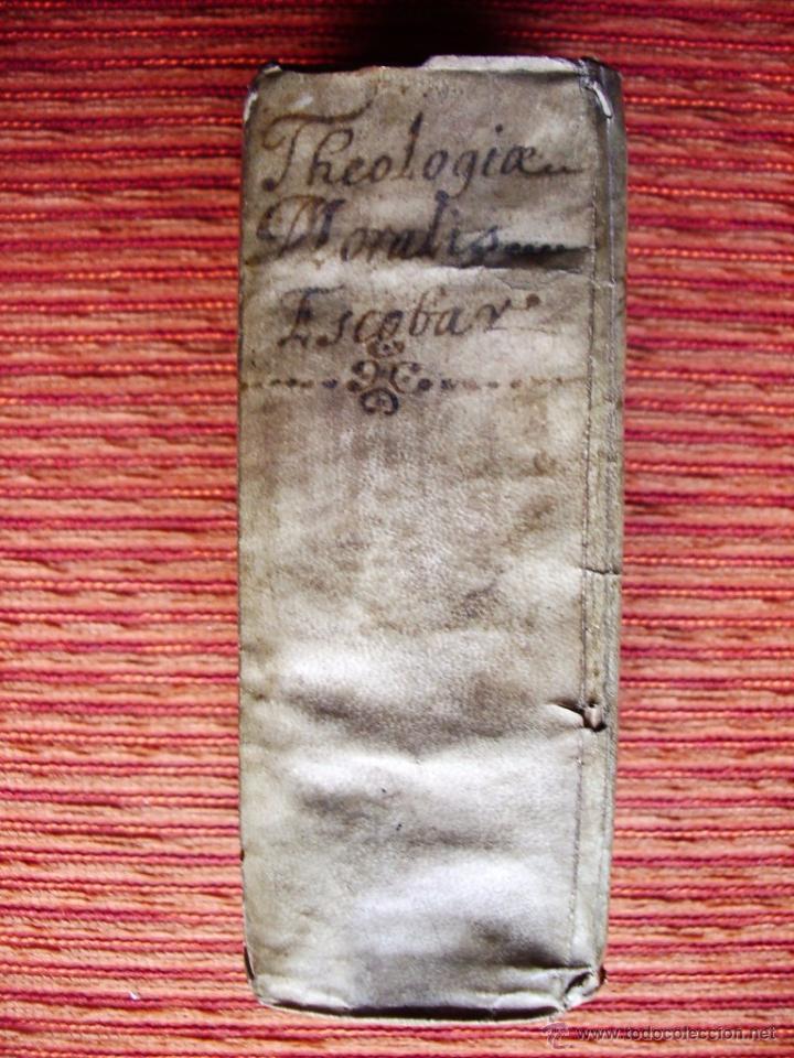 Libros antiguos: 1646-THEOLOGÍAE MORALIS. TEOLOGÍA. ANTONIO DE ESCOBAR Y MENDOZA. VALLADOLID. ORIGINAL - Foto 10 - 53323949