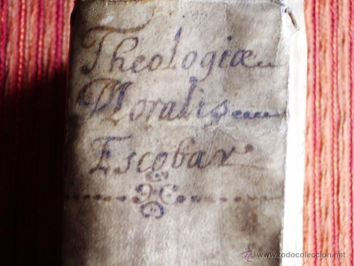 Libros antiguos: 1646-THEOLOGÍAE MORALIS. TEOLOGÍA. ANTONIO DE ESCOBAR Y MENDOZA. VALLADOLID. ORIGINAL - Foto 11 - 53323949