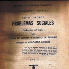 Libros antiguos: LIBRO-BIBLIOTECA ECONÓMICA FILOSÓFICA- *PROBLEMAS SOCIALES*, *LA CRISIS RELIGIOSA*. Lote 53617564