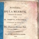 Libros antiguos: PINTURA DE LA MUERTE POR EL MARQUÉS CARACCIOLO, MADRID,1817 IMPRENTA MIGUEL BURGOS,241 PAGINAS. Lote 53770595