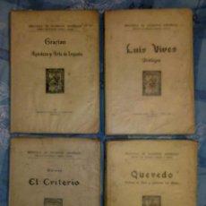 Libros antiguos: LOTE DE 4 LIBROS DE DISTINTOS AUTORES. Lote 54750198