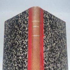 Libros antiguos: LECCIONES DE LÓGICA. EMILIO DONATO Y PRUNERA. AÑO 1932.. Lote 54965449