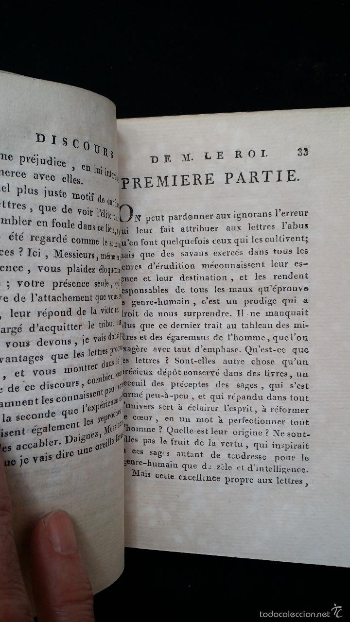 Libros antiguos: J. J. ROUSSEAU: PIECES DIVERSES / 2 TOMOS / PARIS, 1793 - Foto 9 - 55230037