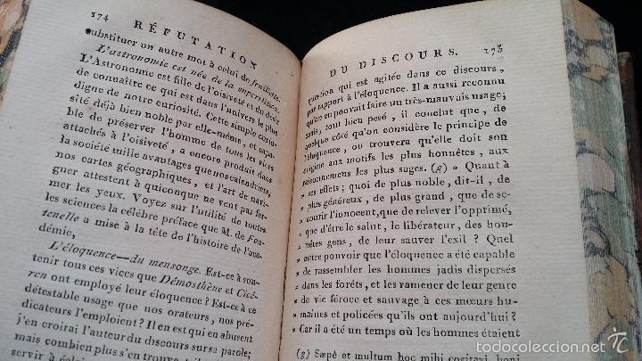Libros antiguos: J. J. ROUSSEAU: PIECES DIVERSES / 2 TOMOS / PARIS, 1793 - Foto 12 - 55230037