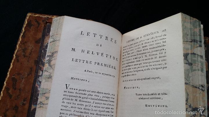 Libros antiguos: J. J. ROUSSEAU: PIECES DIVERSES / 2 TOMOS / PARIS, 1793 - Foto 14 - 55230037
