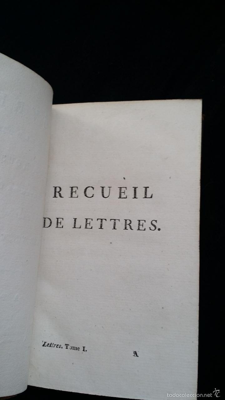 Libros antiguos: J. J. ROUSSEAU: LETTRES / 7 TOMOS / PARIS, 1793 - Foto 6 - 55230755
