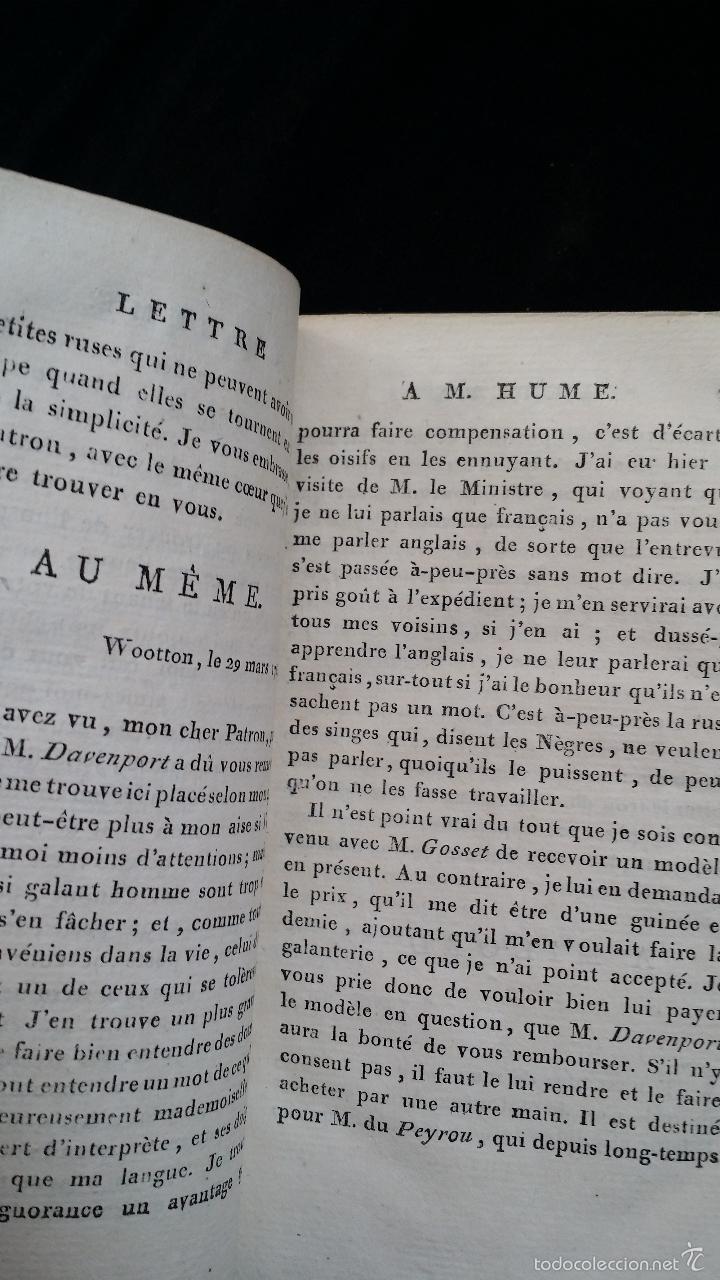 Libros antiguos: J. J. ROUSSEAU: LETTRES / 7 TOMOS / PARIS, 1793 - Foto 10 - 55230755