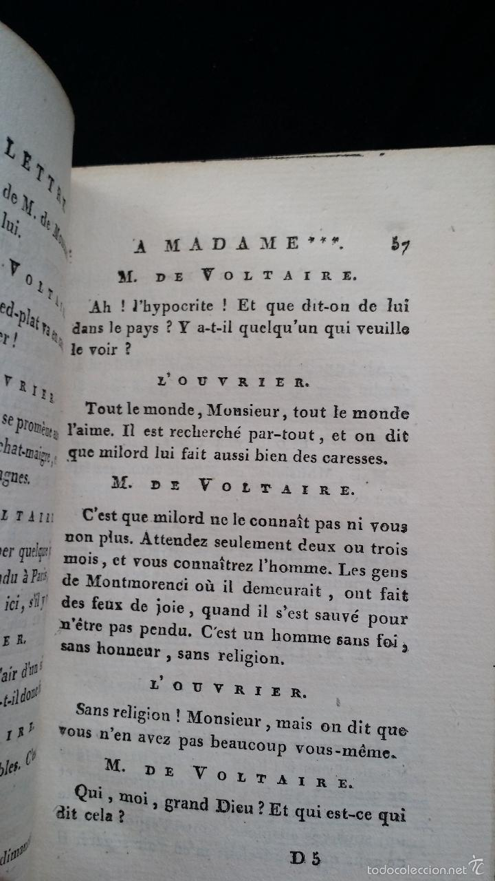 Libros antiguos: J. J. ROUSSEAU: LETTRES / 7 TOMOS / PARIS, 1793 - Foto 11 - 55230755