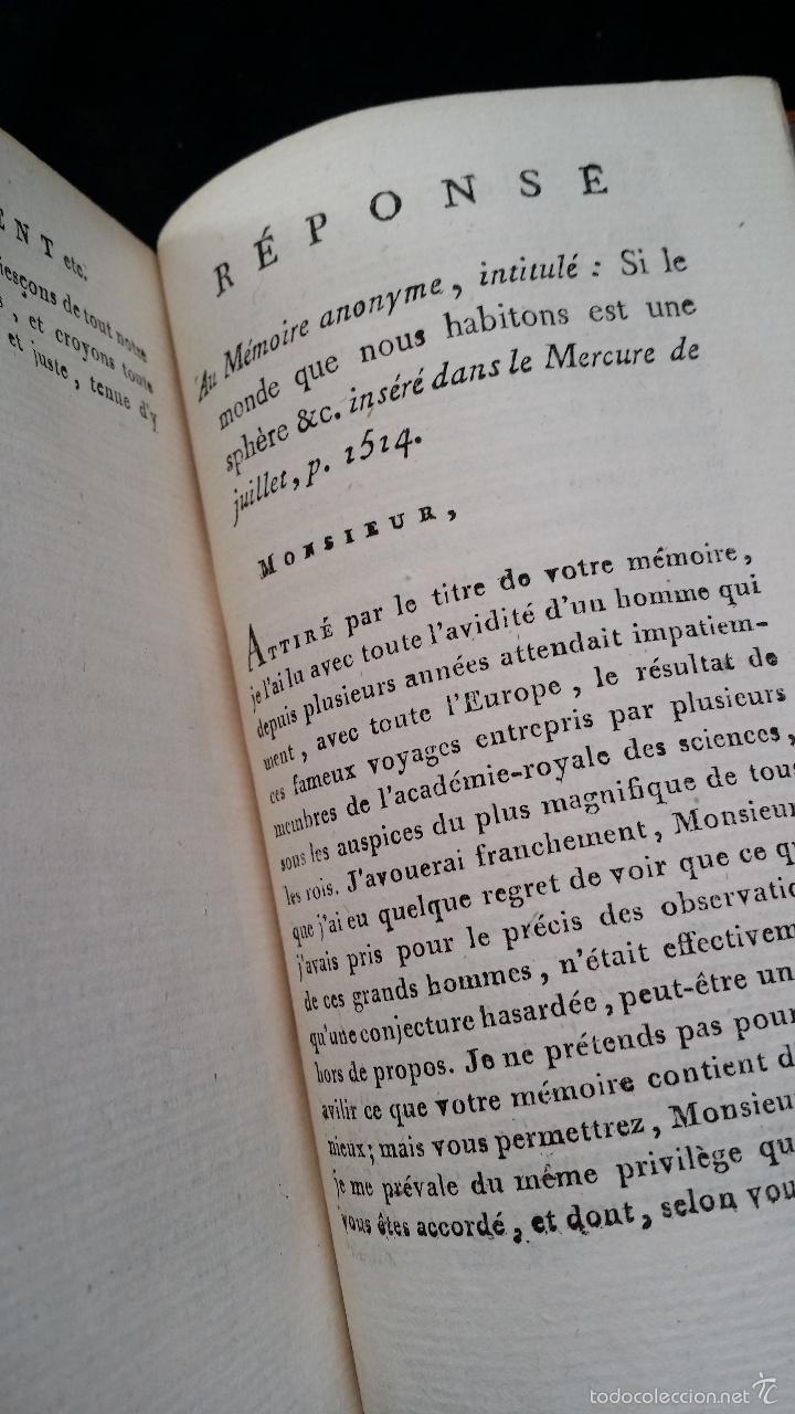 Libros antiguos: J. J. ROUSSEAU: LETTRES / 7 TOMOS / PARIS, 1793 - Foto 13 - 55230755