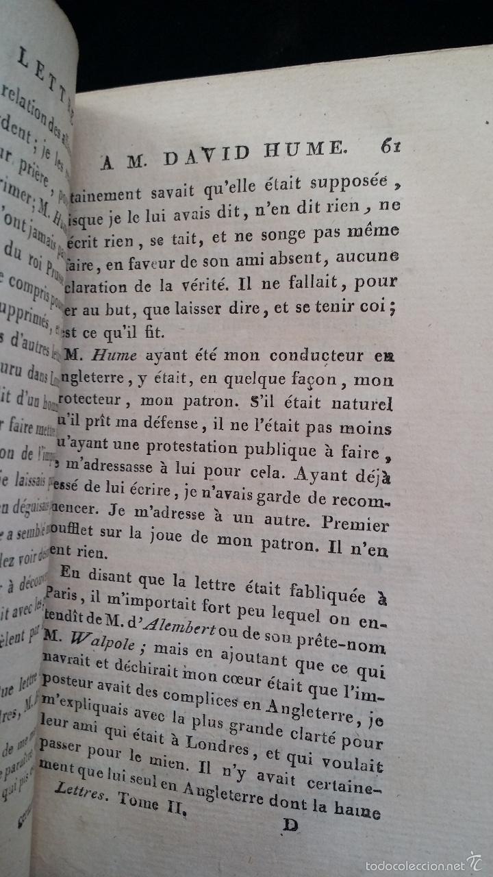 Libros antiguos: J. J. ROUSSEAU: LETTRES / 7 TOMOS / PARIS, 1793 - Foto 15 - 55230755
