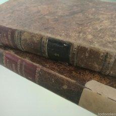 Libros antiguos: CURSUS PHILOSOPHICUS - GABRIELE CASANOVA - VOL. 1 Y 2 - 1894. Lote 56042954