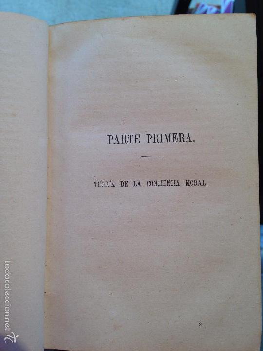 Libros antiguos: ELEMENTOS DE ETICA O FILOSOFIA MORAL - .GONZÁLEZ SERRANO, M. DE LA REVILLA - 1874 - Foto 6 - 56525709